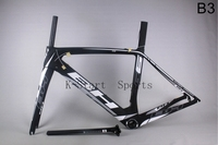2015 Hot sale 100% carbon fiber super light   BH G6 B3  Carbon road Frame for a road bike BB30 or BSA is available