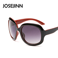 classic big goggle polarized sunglasses Female Large Round Frame Brand Designer Retro Cat Eye sunglasses oculos