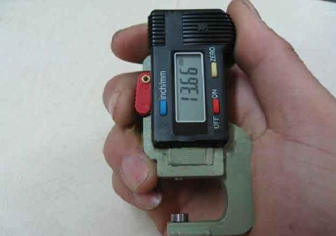 Digital Thickness Gauge measuring range 0-10mm, Resolution:0.01mm Wholesale and retail