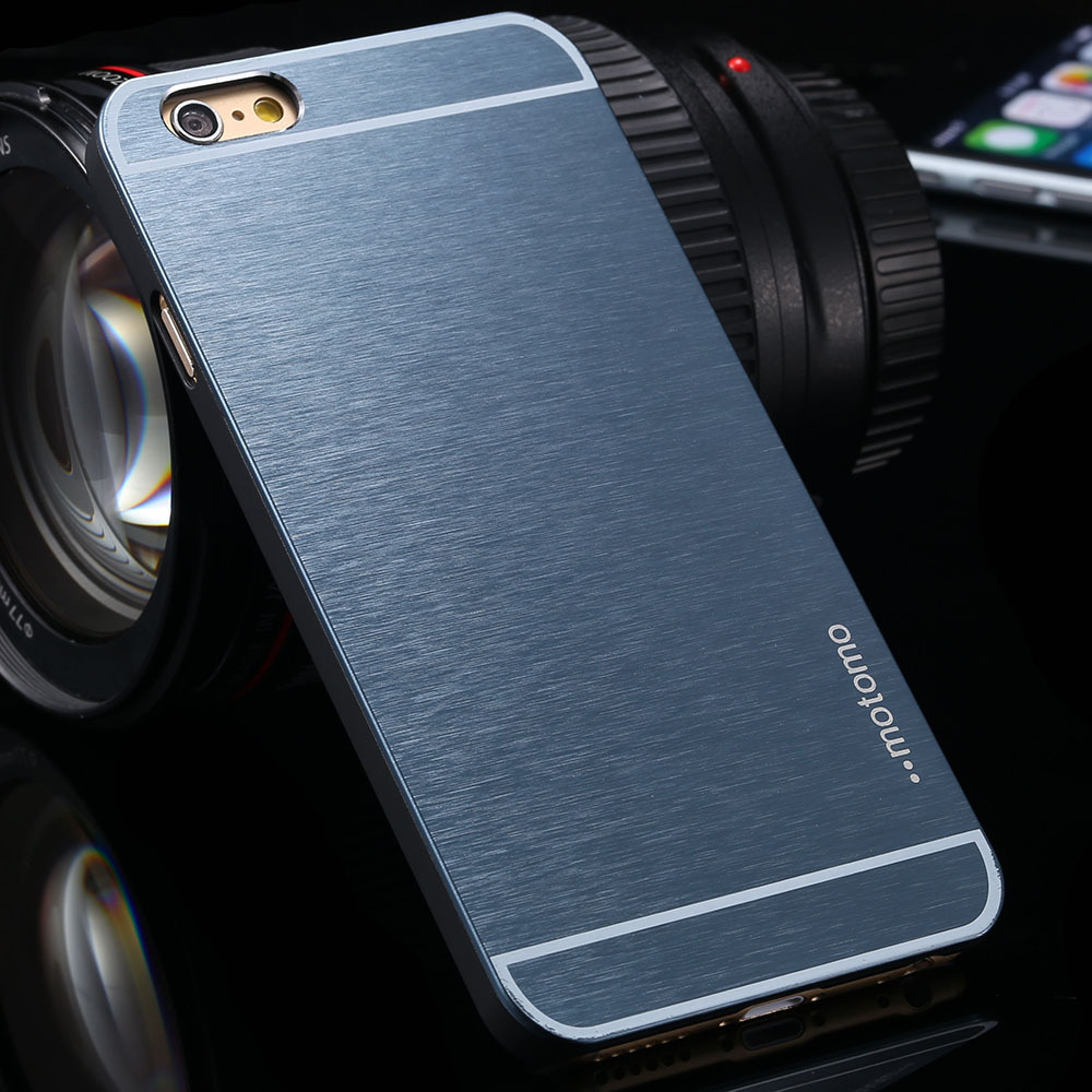 Top Quality Metal Aluminum Brushed PC Case For iphone 6 6s 6plus 6splus Cover Ultra Thin Slim Cellphone Shell Coque Brand Logo(China (Mainland))