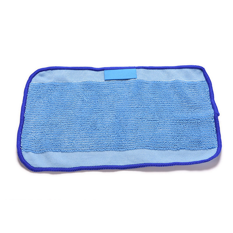 Washable Reusable Microfiber Mopping Cloths for iRobot Braava 380t 320 Mint 5200 Robotic Home Essential 28.5X18cm(China (Mainland))