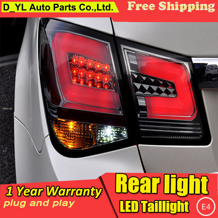 Car Styling Tail Lamp for Chevrolet Cruze LED Tail Light 2009-2014 New Altis LED Rear Lamp LED DRL+Brake+Park+Signal Stop Lamp(China (Mainland))
