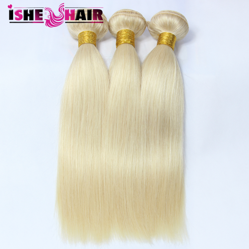 Cheap Virgin Hair 100 Gram Blonde Brazilian Hair  Straight Virgin Hair 3 Bundles Top Selling Products