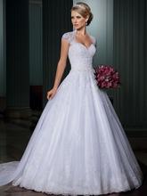 Vestidos de Novia Ball Gown Vintage Wedding Dress Sexy Open Back Wedding Gowns Detachable Skirt Robe de Mariage Gelinlik(China (Mainland))