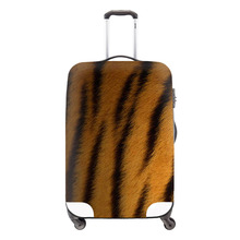 Tiger Print Travel Luggage Protective Covers Equipment Accessories Elastic Luggage Protective Covers For 18 To 30 Inch Suitcase(China (Mainland))