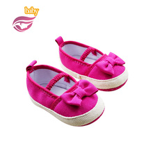 2016 fashion Cute Sweet New baby boy&girl shoes Casual pure color bowknot Shoes  spring Autumn baby soft rubber shoes Baby(China (Mainland))