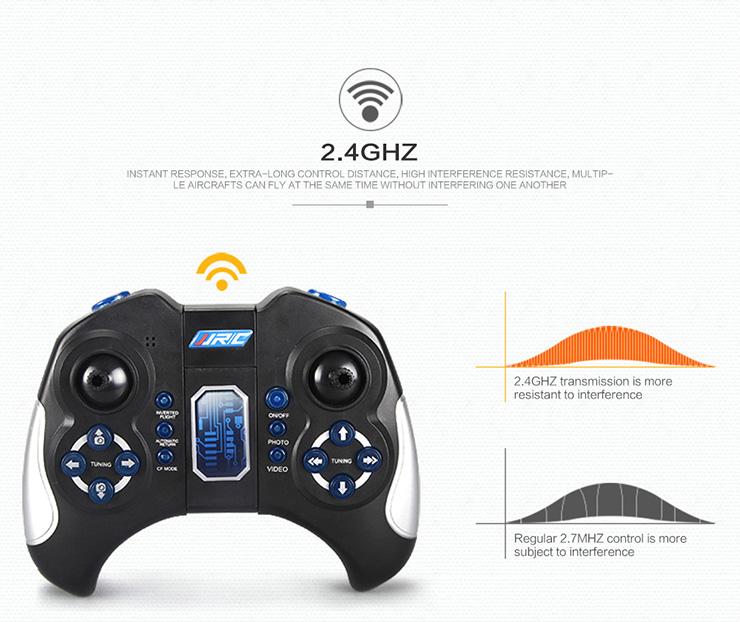JJRC H11D 6-Axis Gryo 5.8G FPV Headless Mode RC Quadcopter with 2MP Digital camera RTF 2.4GHz