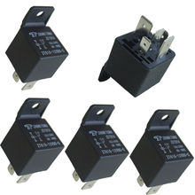 E support  5 X Car Truck Auto Automotive DC 12V 100A 100 AMP SPDT Relay Relays 5 Pin 5P Universal Car Styling XY01(China (Mainland))