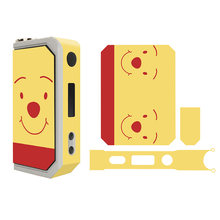 2018 for Mod Encom e cigarette Snow Leopard 150W box mod cover full body skin sticker Hot Selling(China)