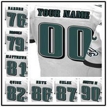 100% Stitched With Customized #76 Allen #79 Brandon #81 Jordan #82 Mike #86 Zach #87 Brent #90 Marcus Elite White Jersey(China (Mainland))