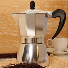 Новое 6 чашка из нержавеющей стали мокко эспрессо латте перколяторе итальянский плитой кофе горшок бесплатная доставка