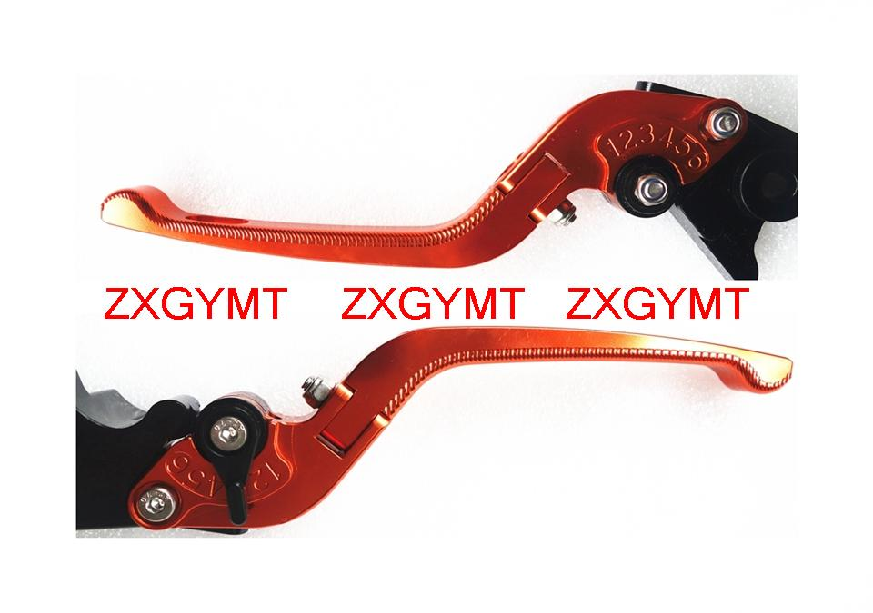 Foldable 3D Hand Lever fit YAMAHA RAPTOR 700 2006 - 2013 Motorcycle Clutch Brake Levers 8 colors Option(China (Mainland))