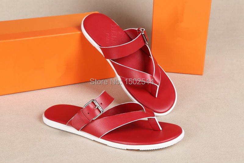 2015 men summer shoes fahsion flip flops new design jelly brand beach - Sweety Global Brand store