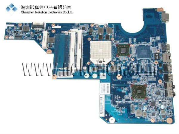 Laptop motherboard for HP G62 P/N:597674-001 AMD/DDR3 GOOD Quality 100%test before shipment(China (Mainland))