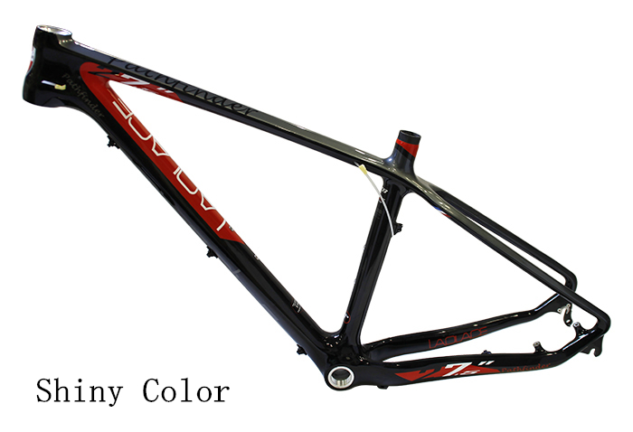 LAPLACE 27.5*15/17'' High Quality Bicycle Frame Carbon Fiber MTB Bike Frame Outdoor Bike Bicycle Carbon Frame PATHFINDER(China (Mainland))