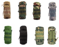 Military MOLLE Tactical Travel Water Bottle Kettle Pouch Army Carry Bag Men Women Hiking Bicycle Camping Outdoor Sports Bag