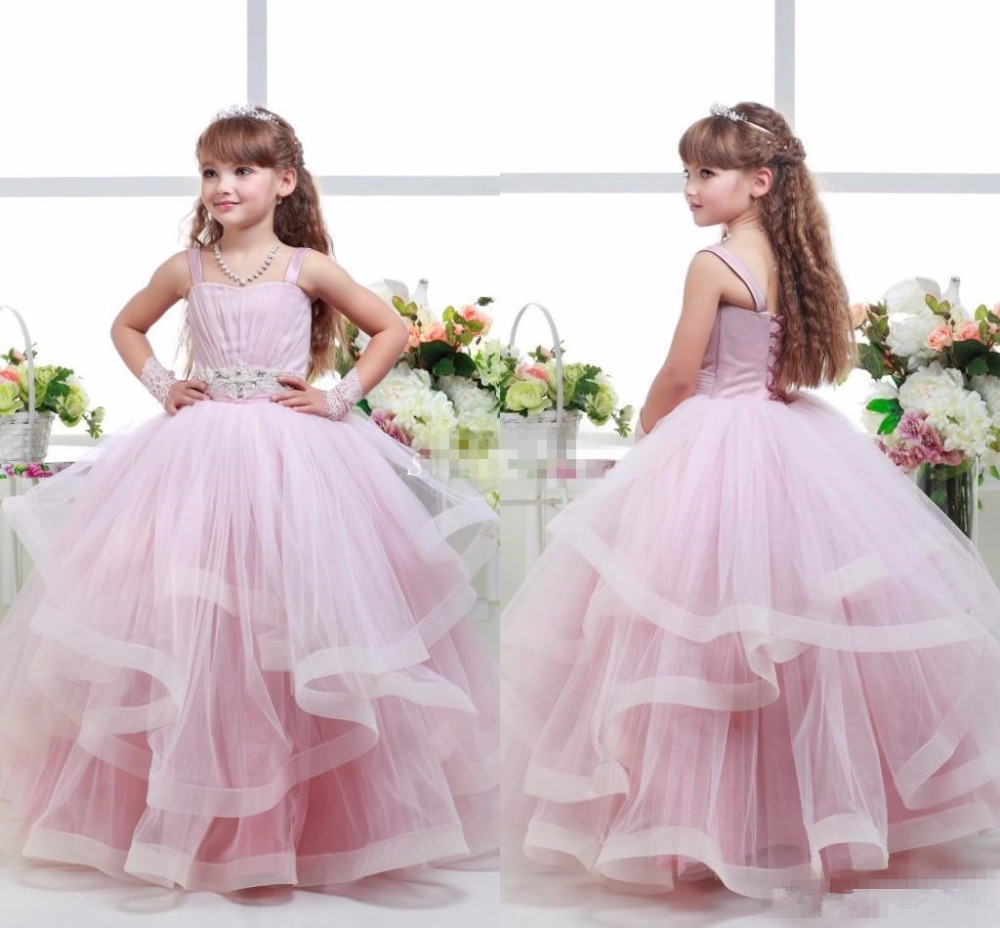 Pink ball gown flower girl dresses wedding dress buy online usa pink ball gown flower girl dresses 61 izmirmasajfo