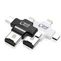 Multi 4 in 1 Type c Lightning Micro usb OTG Memory Card Reader Usb 2 0