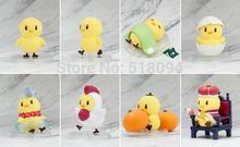 Anime Cartoon Uta no Prince Lovely Piyo Chicken PVC Action Figure Model Toys Dolls 8pcs/set UPFG001