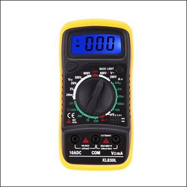 BY DHL OR EMS 20PCS LCD Digital Multimeter XL830L AC DC Volt Amp,Ohm,Transistor Tester Free shipping &amp; Wholesales<br><br>Aliexpress