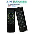 Wireless Keyboard 2 4GHz Multifunction Air Mouse Remote Controller IR learning Mini keyboard Suitable for Smart