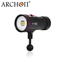 ARCHON D36VR/ W42VR LED diving video light 5200LM underwater diving flashlight uv/ red scuba photography light 100m waterproof(China (Mainland))