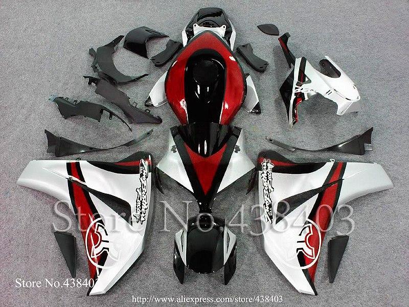 * CBR1000RR 2008-2011 HONDA 08-11 ABS Plastic Bodywork Set CBR-1000RR CBR1000 RR 2008 2009 2010 2011 Fairings - yuxia song's store
