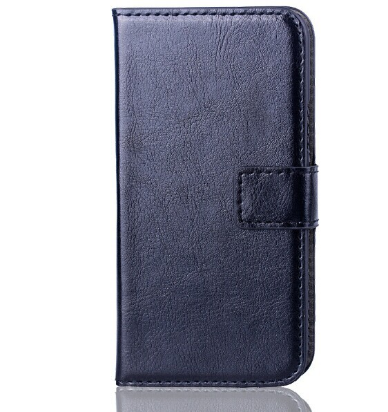 luxury retro flip PU leather case for samsung galaxy s5 mini Wallet Style Flip Stand Phone Back Cover with Card Slot Drop Ship.(China (Mainland))