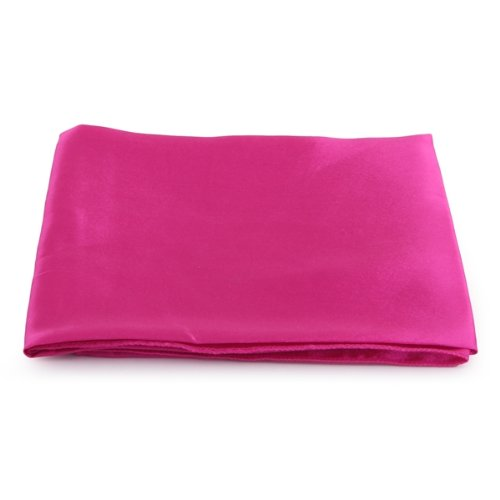 5 X New Hot Pink Cloth Napkins Satin for Banquet Dinner Party 51x51cm