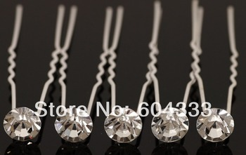 20pcs Crystal Gem Crystal  Hair Pin  Bridal Hair Pins For Wedding Jewelry Hair Clip Accessories Lots