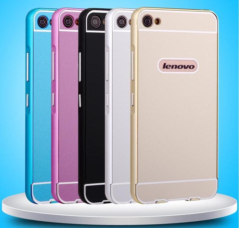 Гаджет  2015 Hot Lenovo S60T Metal Case Acrylic Back Cover & Aluminum Frame Set Phone Bag Cases for Lenovo S60 None Телефоны и Телекоммуникации