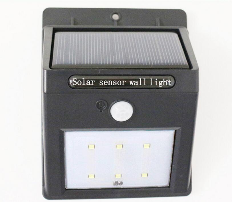 Solar lamps outdoor wall lamp motion sensor solar light - Lamparas de jardin ...