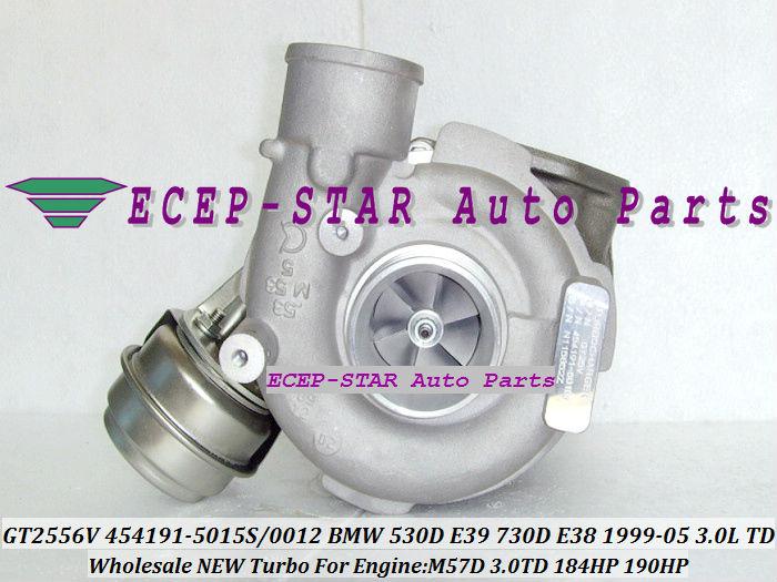 Promotion! GT2556V 454191 454191-5015S 454191-5012S TURBO Turbocharger For BMW 530D E39 730D E38 1995-2005 3.0L D M57 D30 193HP