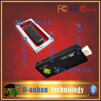 T31 fly air mouse+MK809 III RK3188 Mini PC Quad Core Android TV Box IPTV HDMI PC Stick Dongle 2GB RAM Bluetooth+ USB LAN Adapter