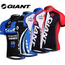 New GIANT Team Cycling Bike Bicycle Clothing Clothes Women Men Cycling Jersey Jacket Jersey Top Bicycle Bike Cycling Shirt