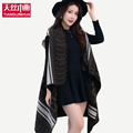 2016 ANSE New Luxury Brand Cashmere Wool Winter Poncho Scarf Women Long Size Print Shawl Fashion