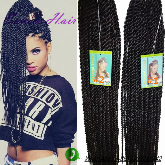 Crochet Braids Sale : 22-100g-hot-sale-crochet-braid-hair-senegalese-twist-hair-crochet ...