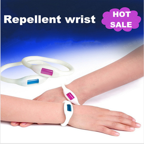 4pcs Mosquito Killer natural repellent outdoor/Indoor use men/women/children mosquito bracelet,Free Shipping.(China (Mainland))