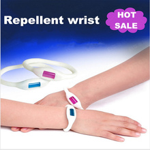 Free Shipping,4pcs Mosquito Killer natural repellent outdoor/Indoor use men/women/children mosquito  bracelet.(China (Mainland))