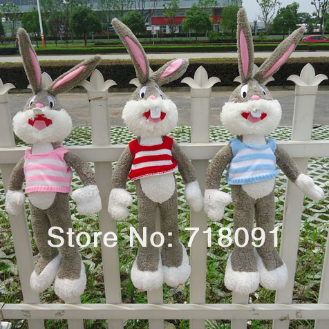 Stuffed Plush Toy Bugs Bunny for Kid's Gifts,Looney Tunes,100CM,1PC