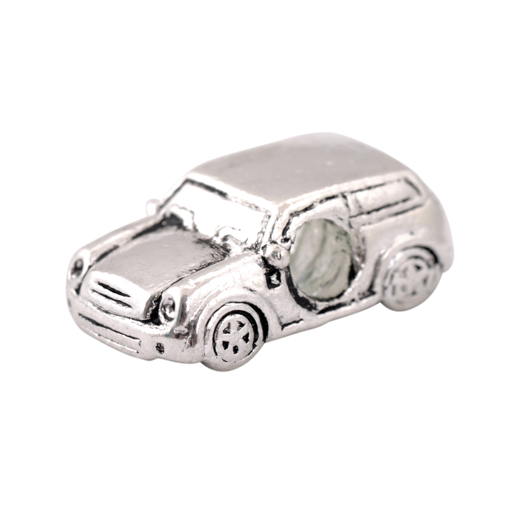 Free Shipping Silver Plated Bead Charm European Antique Car Beads Fit Women Pandora Bracelets & Bangles DIY Jewelry H400(China (Mainland))