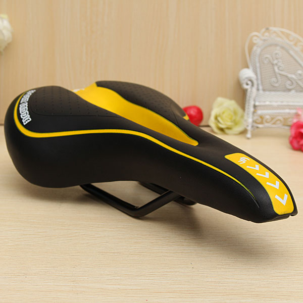 Colorful Bicycle Mountain Road MTB Ride Racing Hollow Cushion Seat Saddle Practical Reliable Durable Streamlined Design