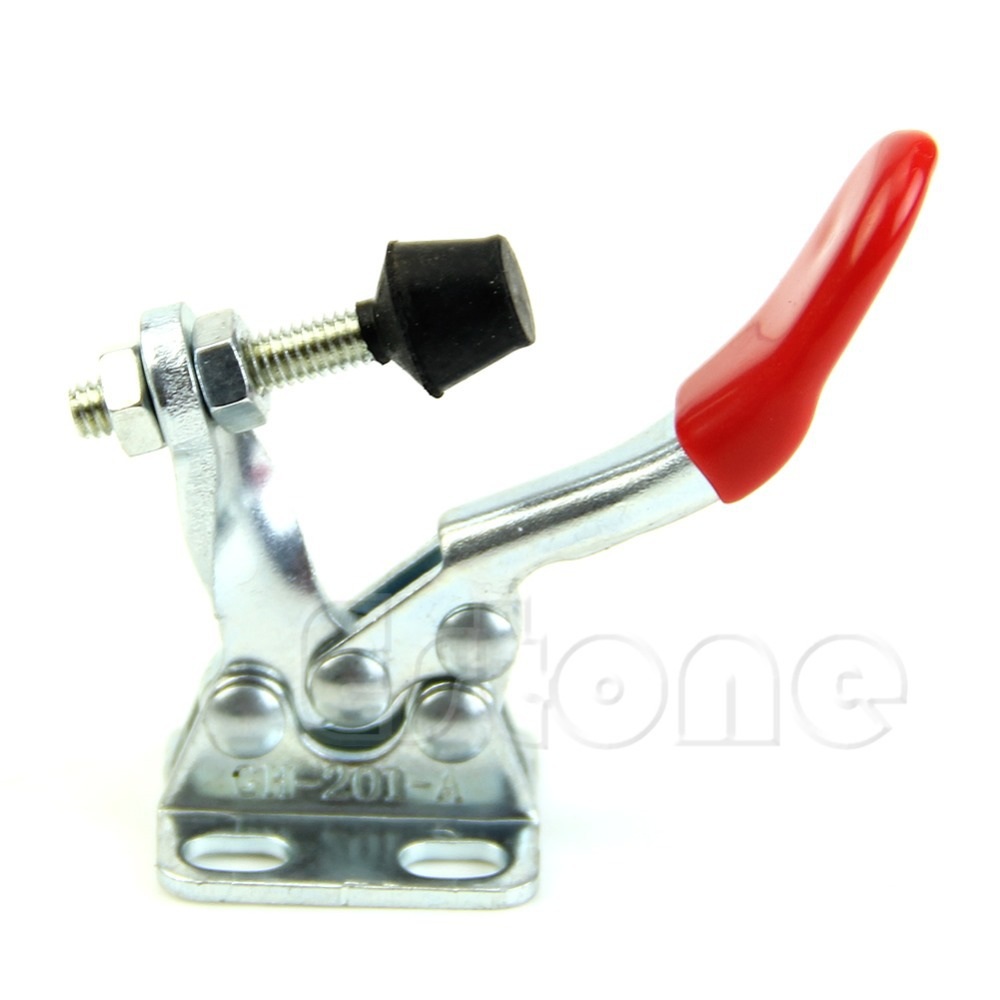 2Pcs New Toggle Clamp GH 201A 201 A Horizontal Clamp Hand Tool