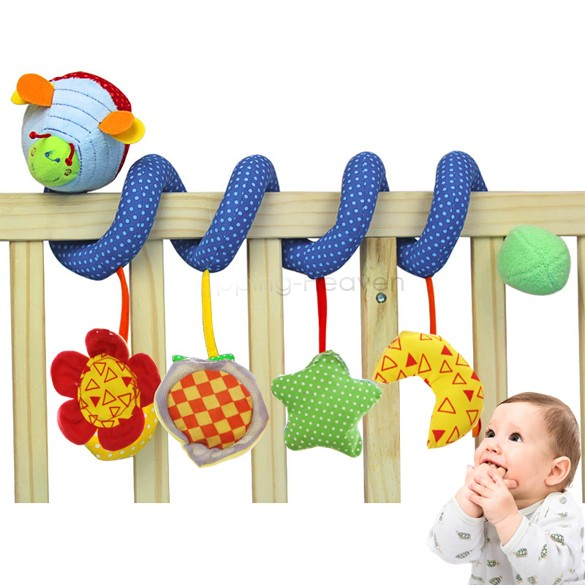 2014 Brand New Multifunctional Baby Bed Hanging Car Hanging Star Moon Toy Baby Rattles/baby mobiles 0-3years 35(China (Mainland))