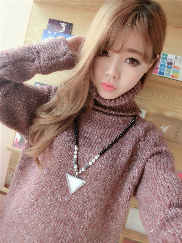 Winter Regular Full 2015 Women Sweater Female Loose Coat Women's Casual Wool Promotion Special Offer Sale Cardigan - Top Boutique Fashion Mall store