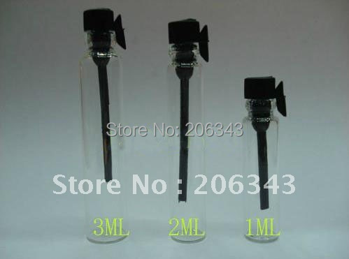 1ml glass mist perfume sprayer bottle can used for perfume packaging or atomizer bottle
