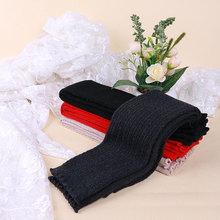 Knitting Arm Warmers 2015 New Fashion Winter Autumn Unisex Warm Men Women Long Solid Fingerless Gloves Sleeve(China (Mainland))