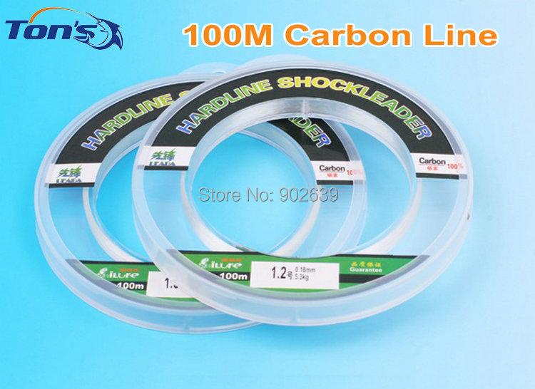 ilure Leada 100% Fluorocarbon Fishing Lines 100m/Spool Various Line Diameters(China (Mainland))