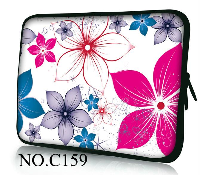 Laptop Colors Colorful Flowers Laptop Cover