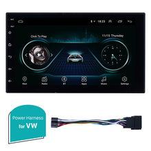 Seicane Автомобильный мультимедийный плеер для универсального Nissan VW Toyota Kia rio hyundai Suzuki Honda 2din Android 8,1 7 дюймов gps навигация(China)